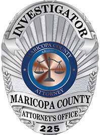 MCAO Investigations Division Badge